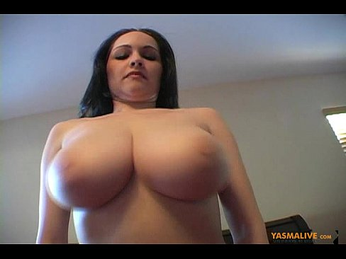 Big bouncing furry boobs naked