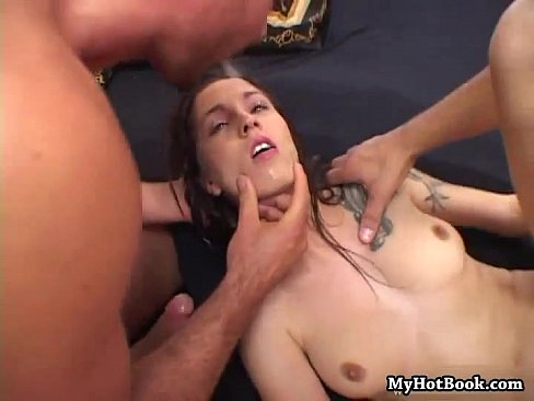 Angelina Sweet got treated to the two biggest cock's Thumb