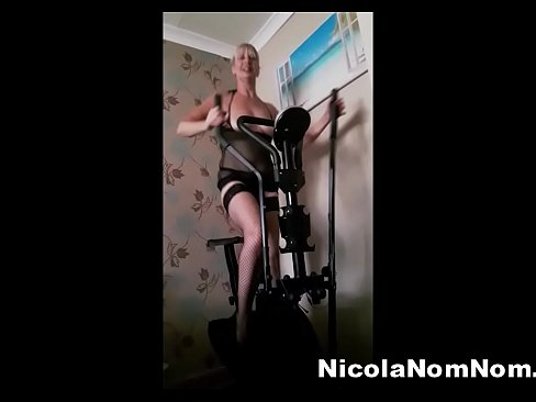 Just Mucking Around On My Cross Trainer With My Loony Husband!'s Thumb