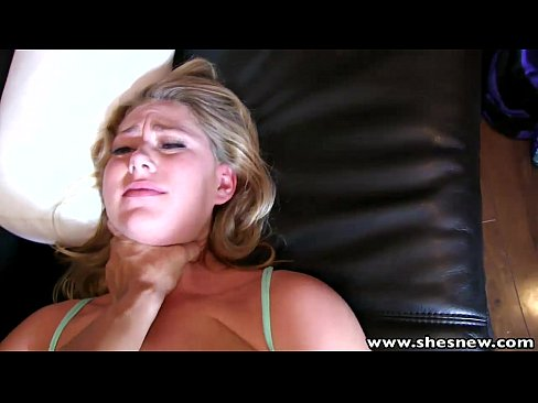 ShesNew Banging horny blondes hairy pussy