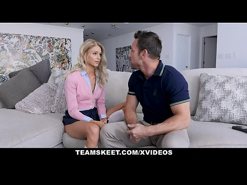TeenPies - Tiny Blonde Takes Her Stepdad's Hot Cum Inside Her