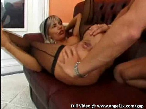 her ass was fucked hard and left some serious gape