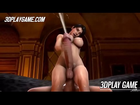 Naive blonde 3D animated babe gets double penetrated by two men and she is loving it!'s Thumb