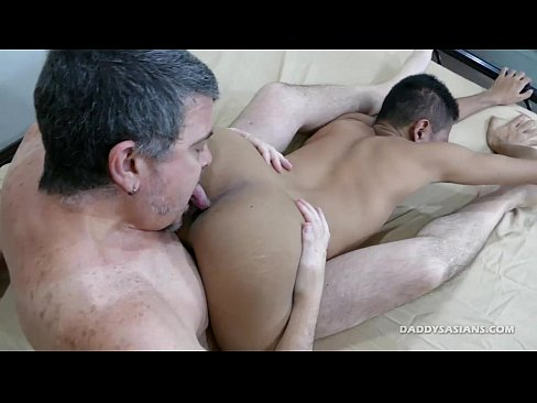 Daddy fucks asian boy joshua raw