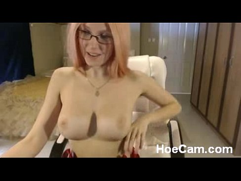 Big Tits Glasses Facial