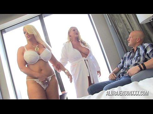 Pornstar Alura Jenson has a threesome with Karen Fisher's Thumb