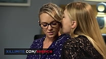 Tiffany Leiddi And Lucy Heart Share A Moment Of