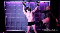 GT143 BALL BUSTING IN MY DUNGEON