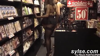 3 Horny Milfs Searching Good Cocks In The Sexshop