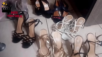 Want to come on my feet? You have to give many shoes