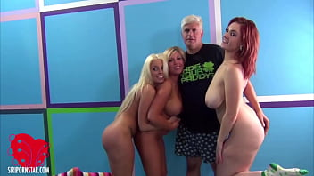 Siri Pornstar Britney Amber And Heidi Hollywood Get 2 Ds In Group Sex!