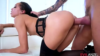 Alexis Tae Her Interracial Anal Gaping Session