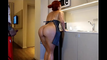 Real Amateur Sister in Law Gets Raw Anal Fucked in the Kitchen