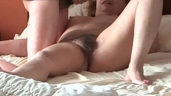 Hidden Cam   Latina Mom In Her Bedroom Having Sex With Her Stepson  Cock Blowjob  Handjob  Fucked  Moans For Cock  Big Cumshot On Her Hairy Pussy