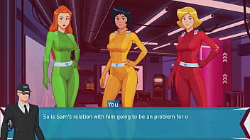 Totally Spies Paprika Trainer Part 13 Flashing Those Tits