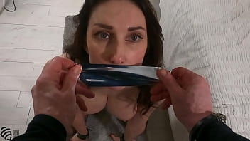 Amateur Submissive Wife in a Hardcore Pussy Fuck with BDSM