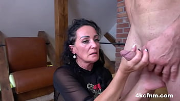 Elegant And Clothed Mature Bitch
