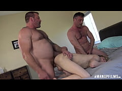Threesome with Lance Hart, Colby, and a Twink!